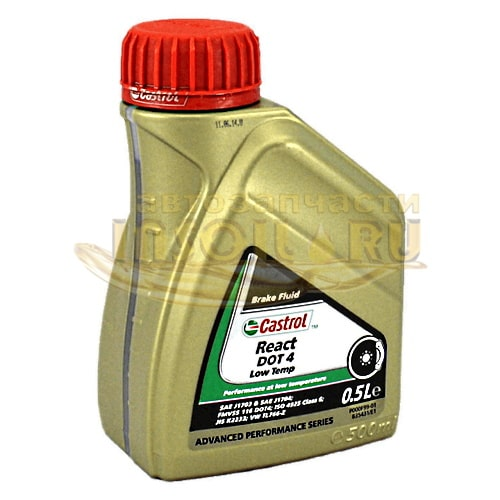 Castrol React DOT-4 Low Temp 0,5L
