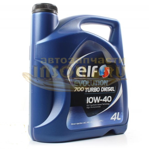 ELF 10140501. Evolution 700 Turbo D 10W-40, 4л.