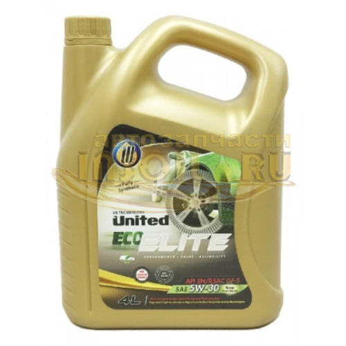 UNITED ECO-ELITE 5W-30 4L